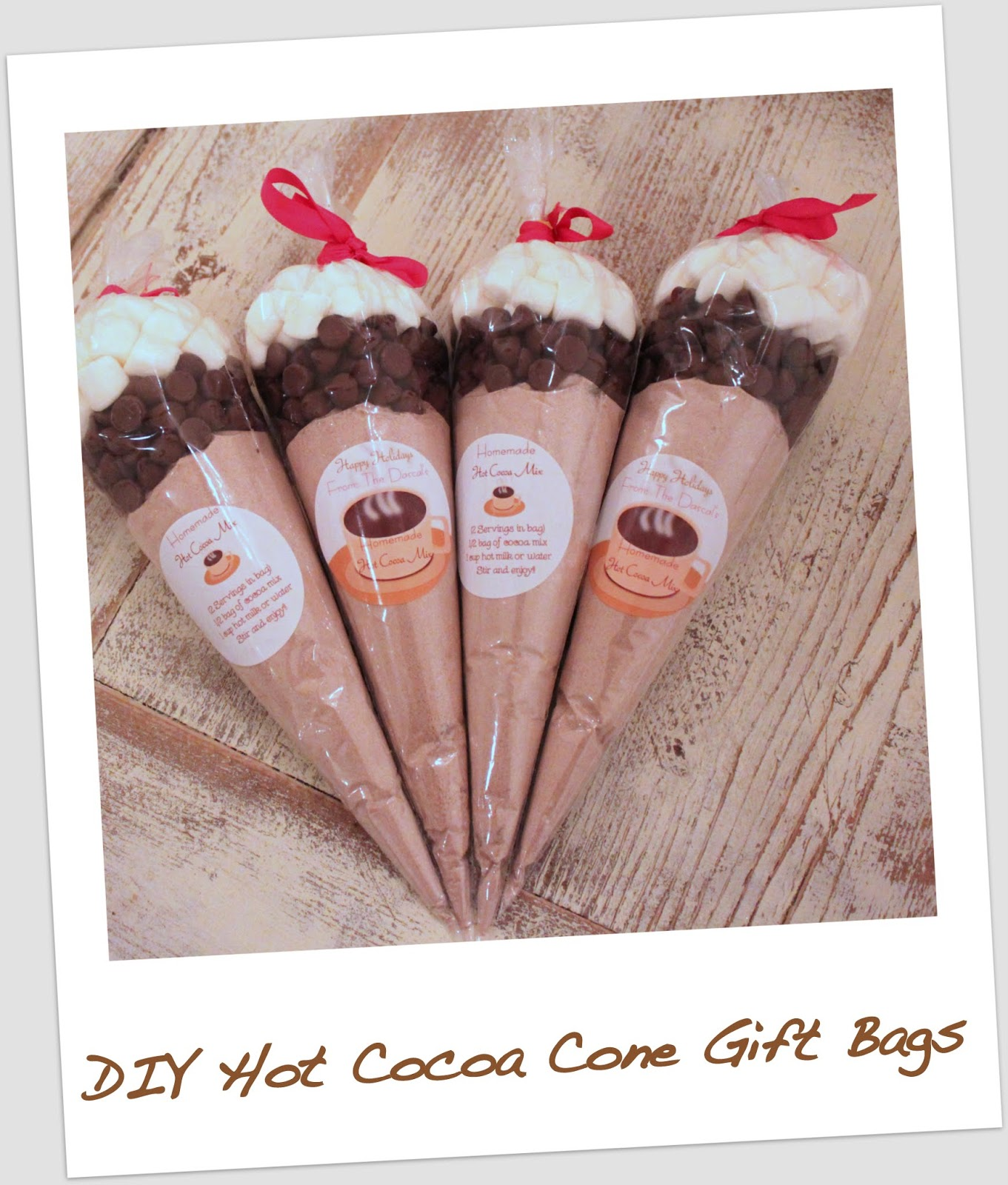 Hot Chocolate Mix Gift Bag