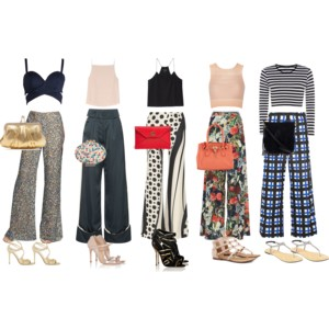 ed30799950fcc TRENDING  Crop Tops with Wide Leg Pants – The Mamanista