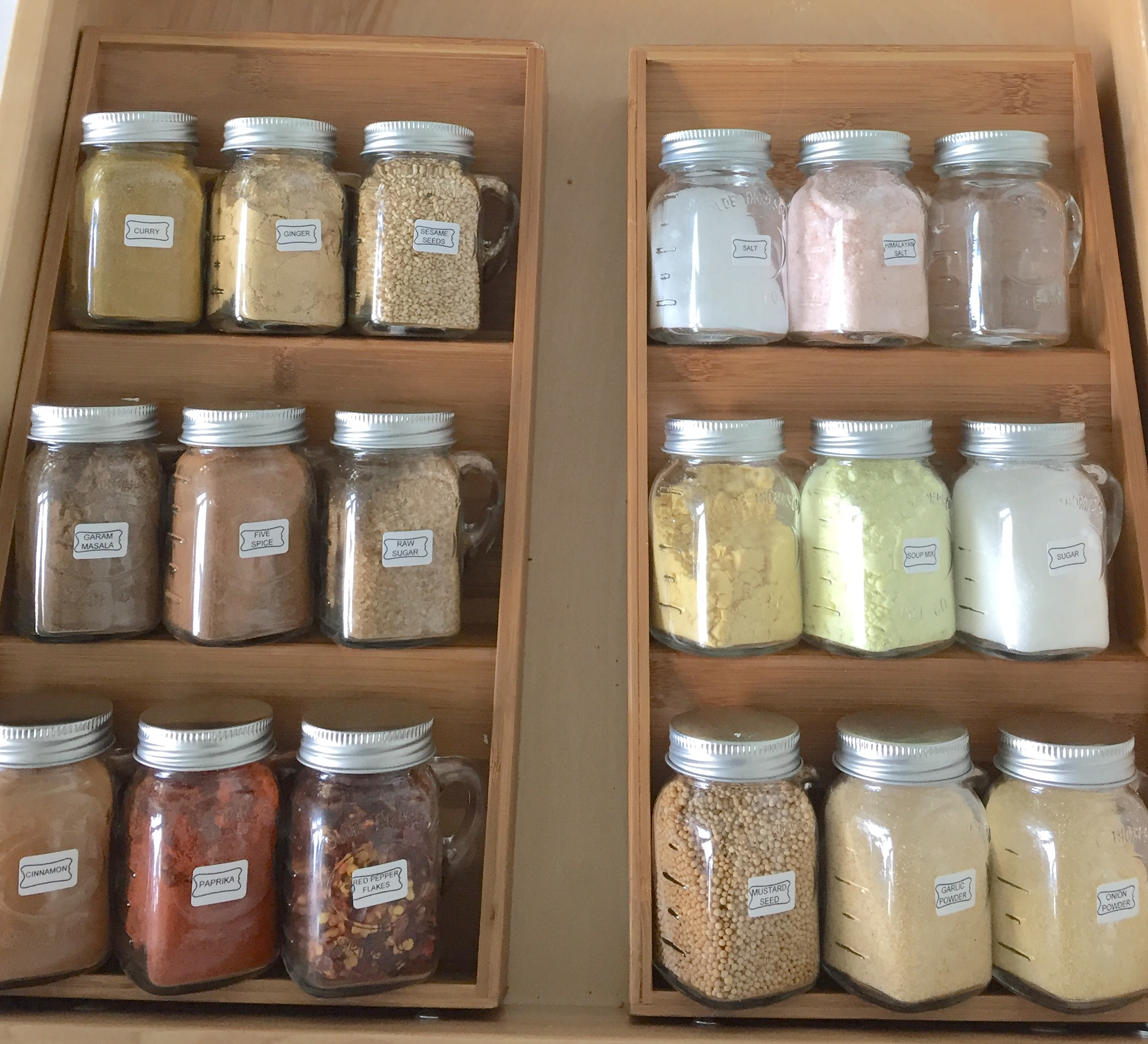 Spice Jar Organization The Mamanista
