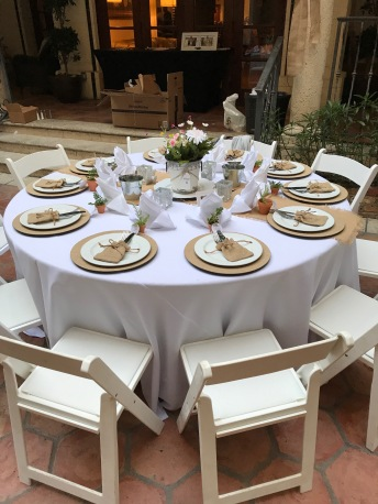 Party Table Setting | THE MAMANISTA